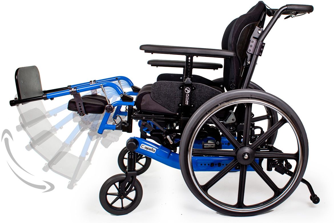 capella wheelchair leg tilt