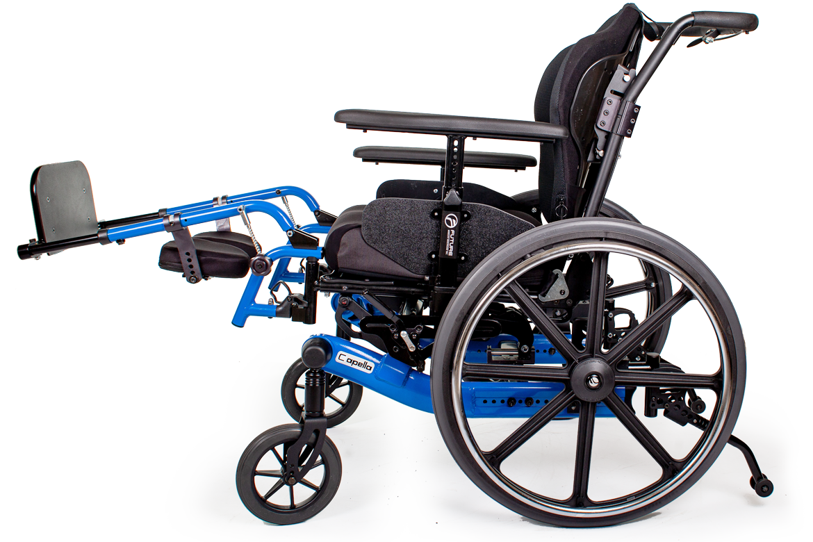 capella wheelchair blue
