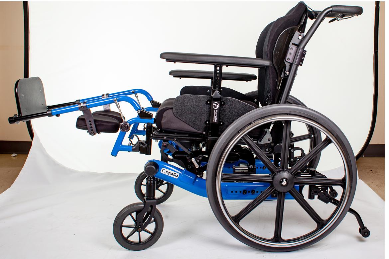 capella wheelchair blue