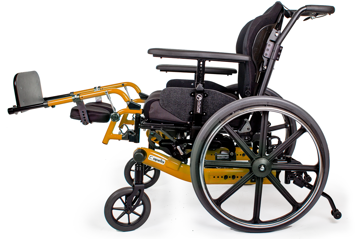 capella wheelchair orange