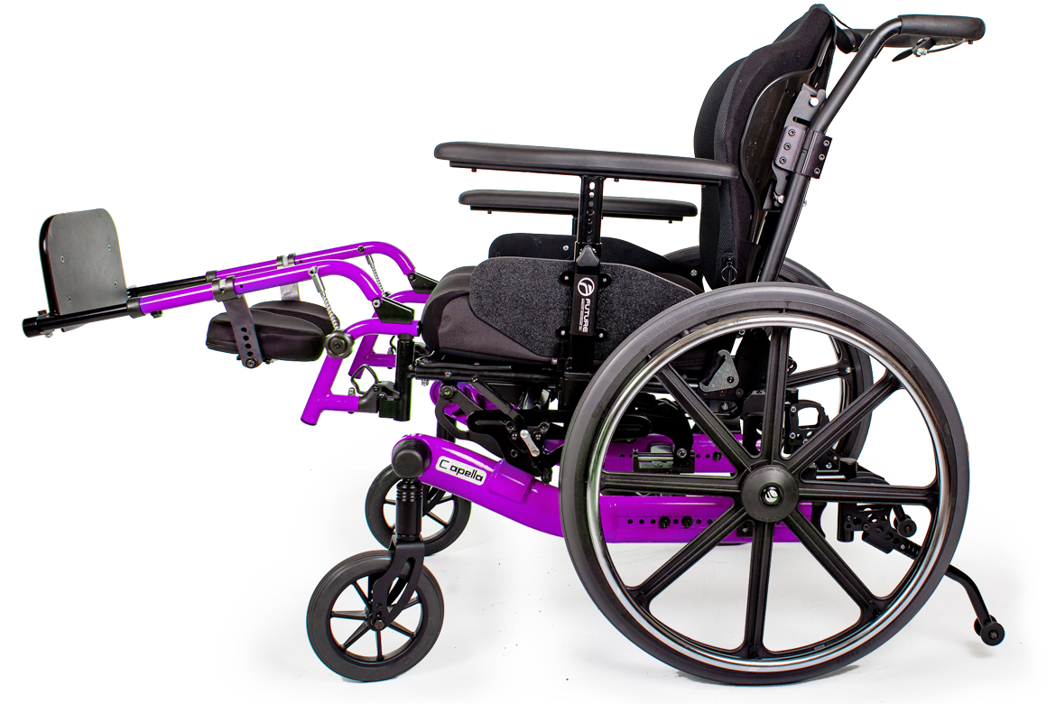 capella wheelchair purple