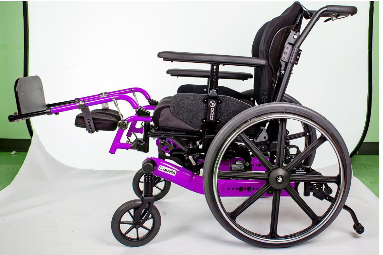 capella wheelchair purple