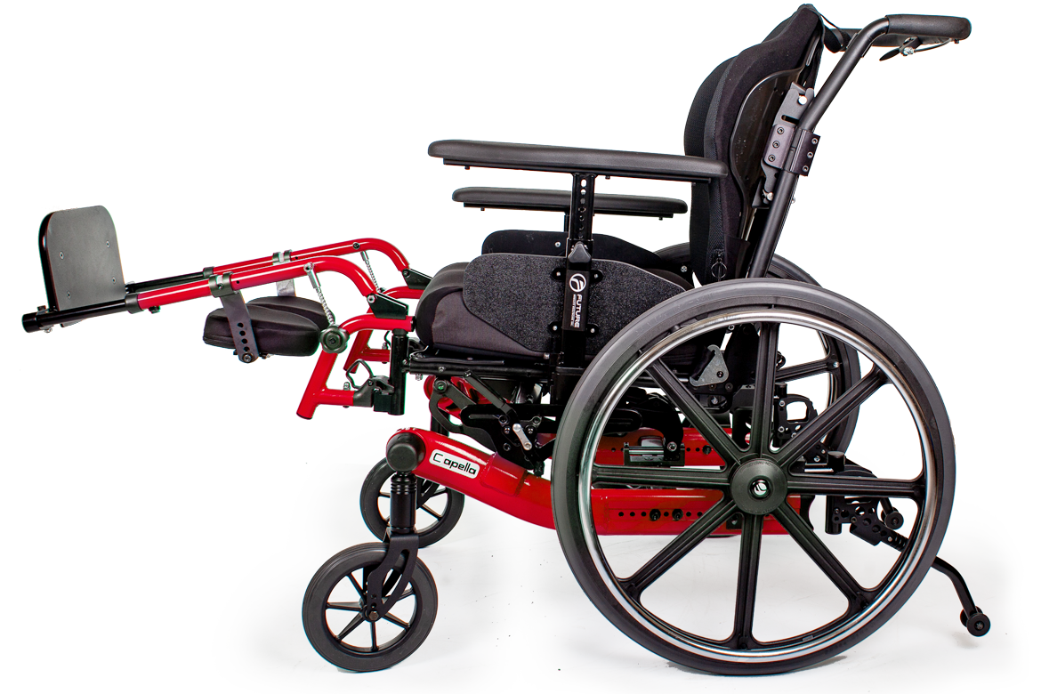 capella wheelchair red