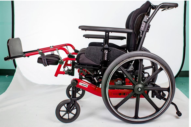 capella wheelchair red