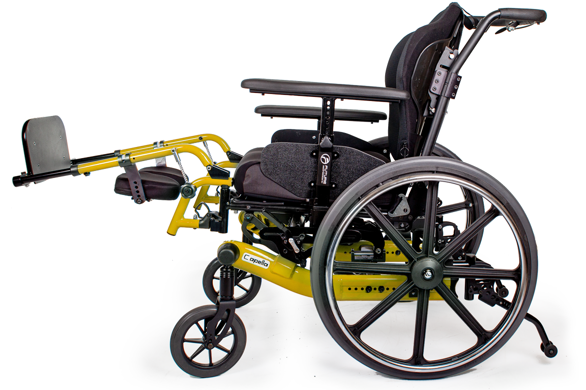 capella wheelchair yellow