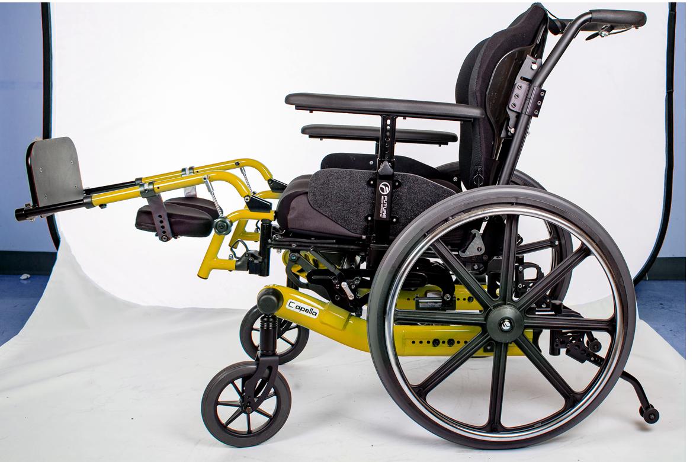 capella wheelchair yellow