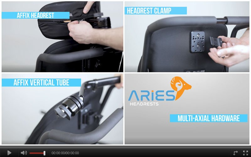 Aries Headrest Multi Hardware