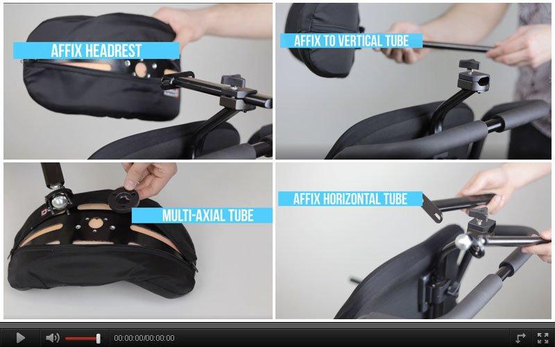 Aries Headrest fixed Hardware