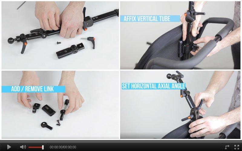 Aries Headrest links Hardware