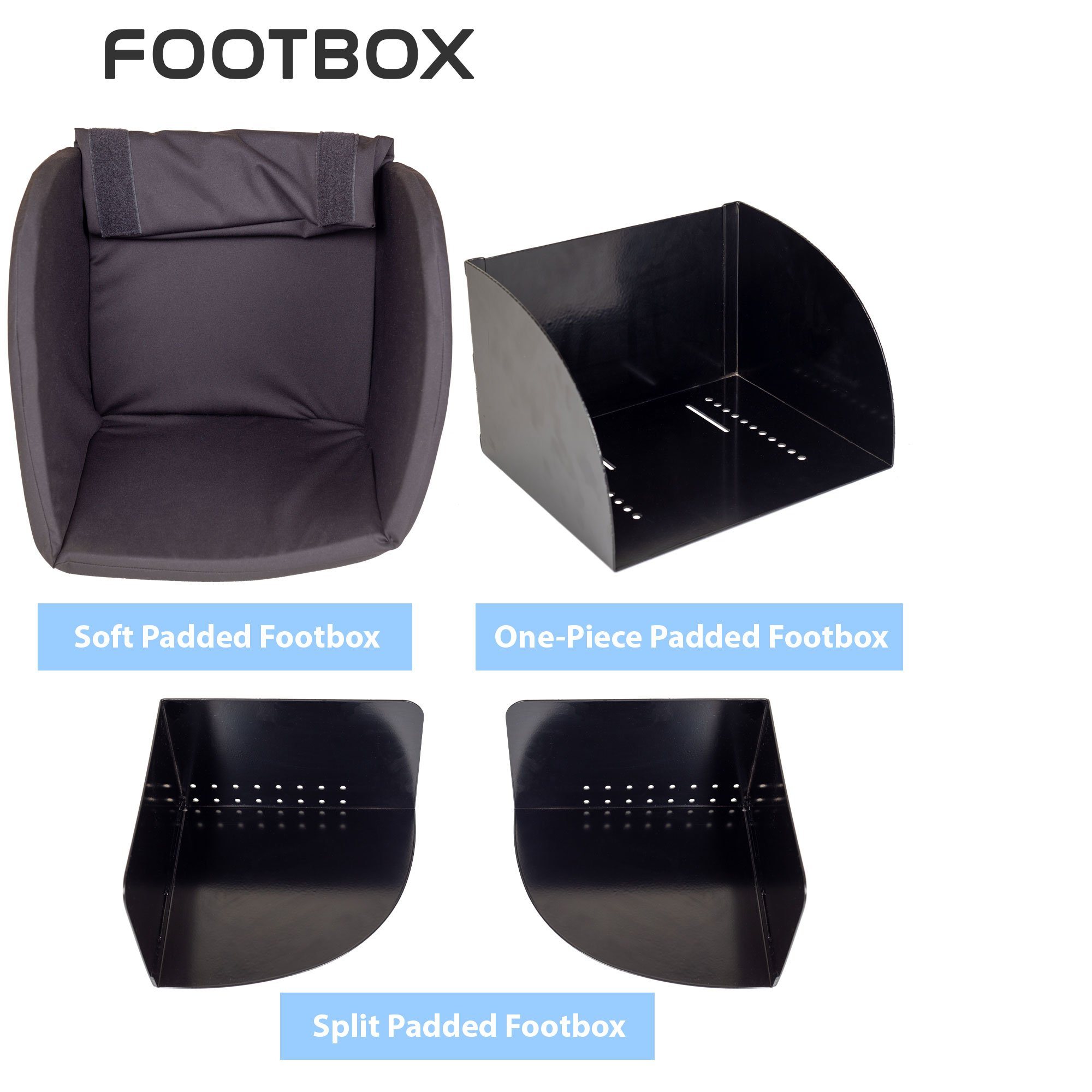 Footbox Wheelchair Accessories