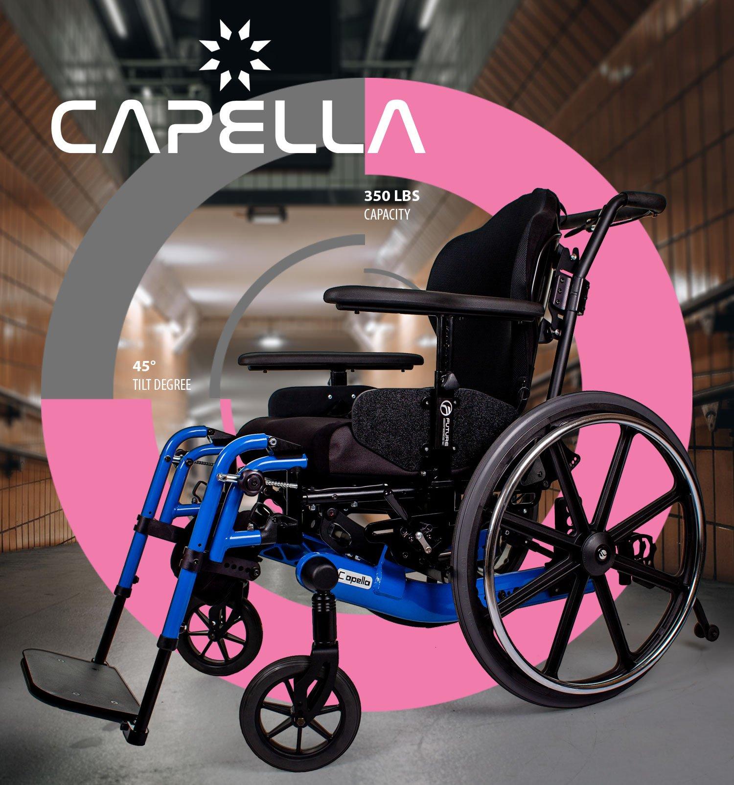 tilt wheelchair capella
