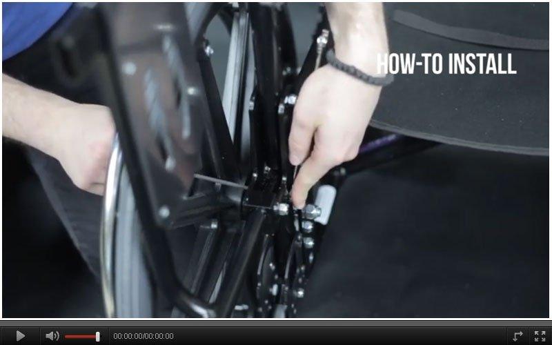 wheelchair accessories seat belt