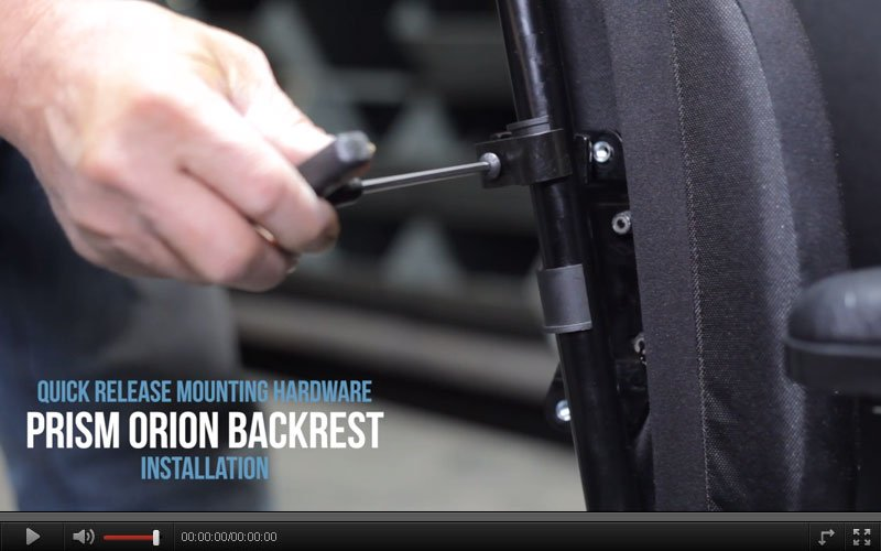 orion backrest installation