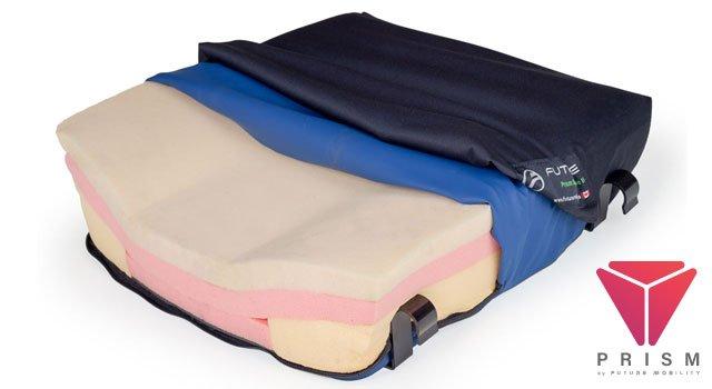 cushion wheelchair prism supreme drop base